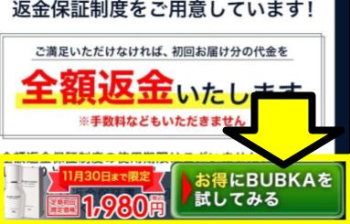 「お得にBUBKAを試してみる」ボタンが表示された公式サイト画面